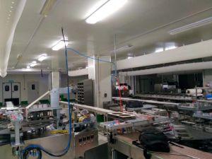 La Copa de fideos lineal automático de llenado y sellado de la máquina de embalaje