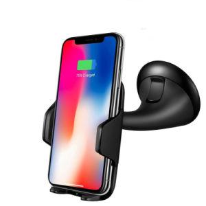 Держатель телефона продавца с возможностью горячей замены для установки в быстрый беспроводной телефон зарядное устройство для iPhone/Samsung