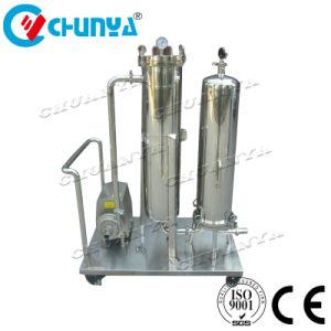 Kundenspezifisches flüssiges Geräten-Kassetten-Filtergehäuse mit Pumpe