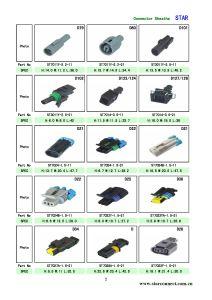 А/Tyco 1/2/3/4/5/6 контакт водонепроницаемый электрический штепсельный разъем кабеля для автомобильной промышленности
