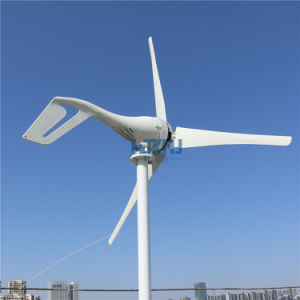 Generador eólico de 300W 48V AC con MPPT Controlador de carga 3 o 5 hojas para semáforo iluminación del jardín o el hogar de la eficiencia de uso