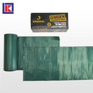 롤에 주문 편평한 바닥 플라스틱 HDPE/LDPE 쓰레기 봉지