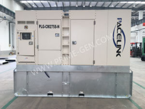 250kVA Cummins schielt schalldichtes Dieselgenerator-Set mit Ce/ISO an