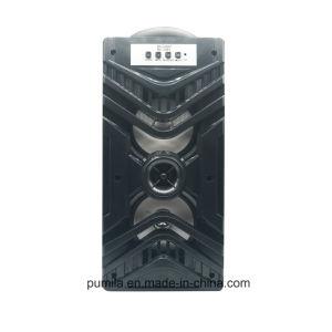 USB TF 3.5mmの可聴周波補助の入力が付いているBluetoothの木の携帯用スピーカー