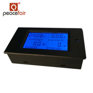 De Chinese Voltmeter van de Meter van de Fabrikant gelijkstroom 6.5-100V 20A 4in1 LCD Elektronische KWu