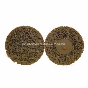 Um diamante bruto da roda de polimento disco abrasivo