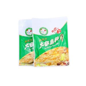 Professional пользовательские пластиковые пакеты с герметичными застежками приправу мешок для упаковки продуктов питания