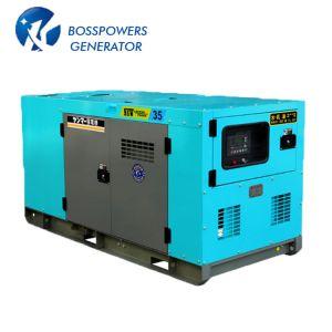 generatore di potere diesel silenzioso industriale di 30kw Isuzu Denyo