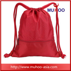 Ripstop moda cordão/saco mochila de String para Dom/praia/Sports