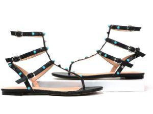 Nouveau design Mesdames Sandales plates