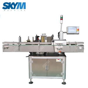 Impressão automática de dois lados Twin Side Garrafa de Enchimento da máquina de rotulação