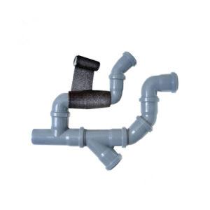 Verlegenheits-Loch Wasser-Rohr-im schnellen verhärtenpolyester-Gussteil-Verband