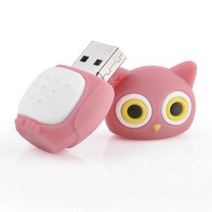 Comercio al por mayor nueva unidad Flash USB de PVC de dibujos animados para el equipo