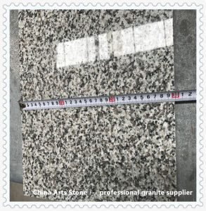 Grijs Wit Zwart China poetste en vlamde het Bedekken van het Graniet Tegel op