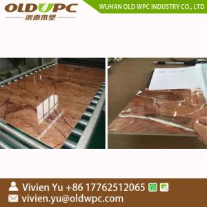 PVC imitation marbre pierre de feuille d'administration WPC Ligne de production d'Extrusion de profil de l'extrudeuse en plastique