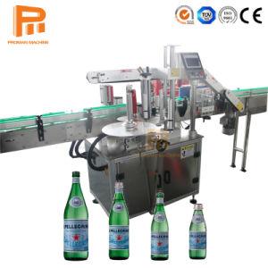 고속 안정성 자동적인 플라스틱 병 PVC 소매 애완 동물 유리병 수생 식물을%s 레테르를 붙이는 수축 기계/접착성 스티커 레이블 기계