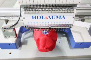 モノグラムのSwf高速ホームヘッド1刺繍機械の1台の単一のヘッド帽子およびTシャツのロゴの刺繍Machines/1のヘッド刺繍機械か映像