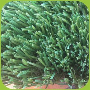 Landschaftsgestaltung des verwendeten künstlichen grünen Rasens für Garten-Gras