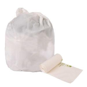 Pbat D2w 100%のロールの生物分解性のCompostableプラスチックごみ袋