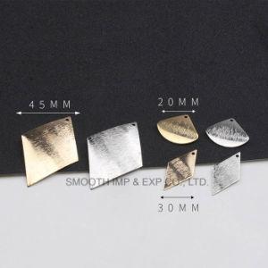 Reine kupferne hängende DIY Zubehör-selbst gemachte Ohrringe des Geometrie-Metallmateriell