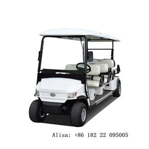 Venda a quente 4+2 Lugares carrinho de golfe para o Turismo & Golf Club