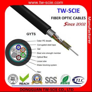 Encuesta de antena exterior y el conducto de 48 núcleos de fibra óptica