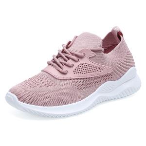 Новая модель моды на плоской подошве спортивный обувь кроссовки черного цвета