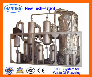 HTZL-IV utilisé l'huile de lubrification du système de distillation sous vide pour la bonne huile