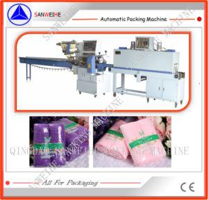 中国の製造タオルの収縮包装機械