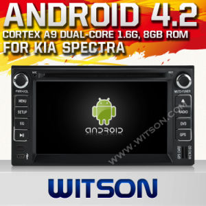 Witson Android 4.2 System Car DVD per KIA Spectra (W2-A7517)