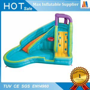 Hinchable tobogán de agua al por mayor con piscina Toy