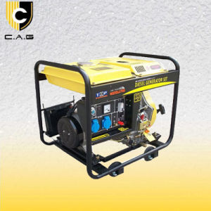 4kw 디젤 엔진 휴대용 발전기 (TP5500DG/E)