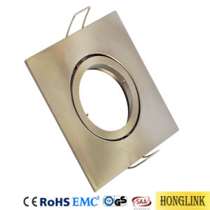 Drehbare vertiefte Kontaktbuchse des Downlight Gehäuse-GU10