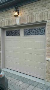 La parte superior de 2015 la venta de acero moderno baratos seccionales puerta de garaje automáticas plegables