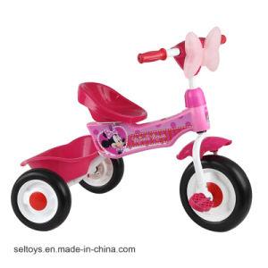 三輪車で乗ること容易な赤ん坊の歩行者は音楽の車および子供のためのライトをもてあそぶ