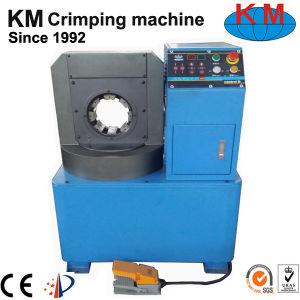 新しい夕食の薄いホースのひだが付く機械(KM-81A-51)
