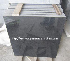 De opgepoetste G684 Tegels van het Graniet, de Zwarte Tegels van het Basalt