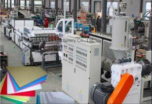 PP /PC /PE Feuille creux rigide Making Machine / feuille de plastique Machine de l'extrudeuse
