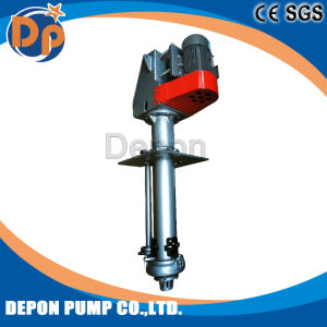 Pompa ad acqua singola verticale sommergibile fissa del pozzetto di aspirazione