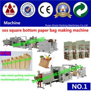 De forma totalmente automática máquina de hacer bolsa de papel modelo SBR Precio
