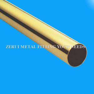 1-1/4X0.5mm templado suave C27000 tubo redondo de latón de Medidas Sanitarias