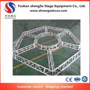 Shengse 단계 장비 알루미늄 프레임은 결혼식과 사건을%s 다각형 6각형 모양 Truss를 주문을 받아서 만들었다