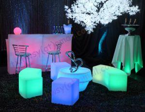Пункт Eventos Mobiliario Iluminadas / Mueble светодиодные индикаторы / 16 Изменение цвета PE Rotomolding индикатор запальной свечи случае мебель