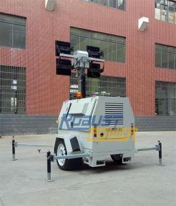 強い力のKubotaエンジンのAlKoのトレーラーの移動式軽いタワー