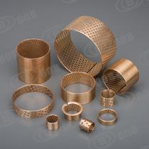 Rolamentos Simples Composto Metal-Plastic, Rolamento de lubrificante sólido, Rolamento Bimetal, Rolamento de giro do rolamento de aço de cobre