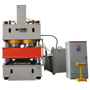 4500 la tonne châssis métallique de la plaque de porte en acier de feuille machine à gaufrer