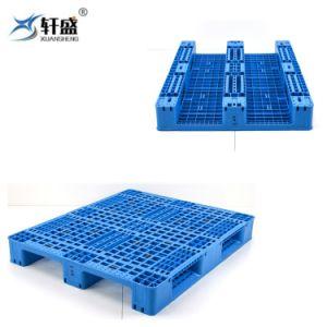 Serviço Pesado Antiderrapagem Forma plana Grau Alimentício paletes de plástico para o depósito o uso do storage