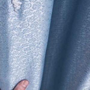Novo Estilo Europeu Bordado Cortina da janela de blecaute (07F0045)