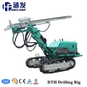 Hf140S DTH de oruga de la torre de perforación, equipos de perforación de anclaje