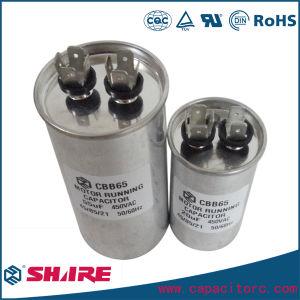 Cbb65 370V a prueba de explosiones compresor de aire acondicionado Condensador de una lata de metal